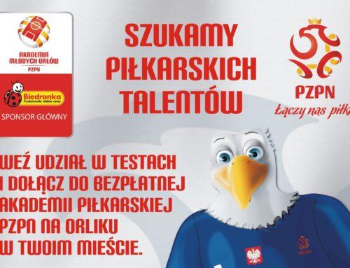 Akademia Młodych Orłów – nabór 2017/18 !!!