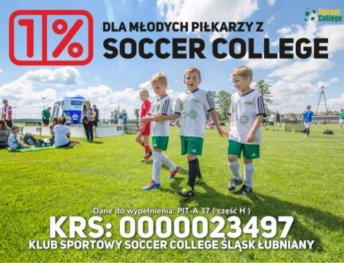 1% na młodych piłkarzy Soccer College!